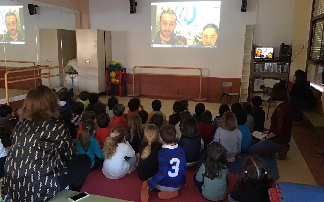 Videoconferencia con la Antártida