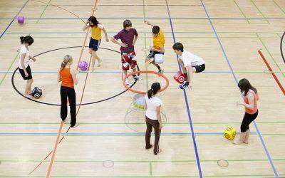 Medidas promoción salud: Educación Física al aire libre – sin mascarilla
